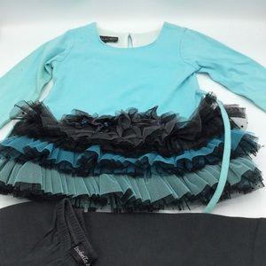 Isobella & Chloe Toddler Shirt & Pants Set 3T